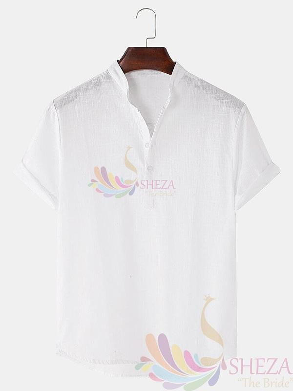 Men's Trendy Solid Shirt