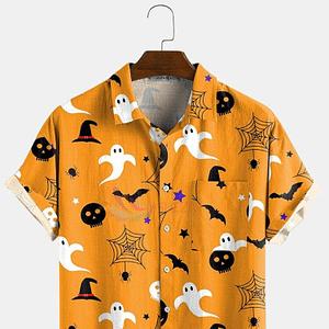 Men's Trendy Spooky Halloween Special Shirt