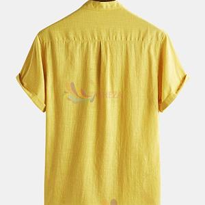 Men's Trendy Solid plain Shirt_1