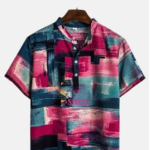 Men's Polycotton Half Sleeve Casual Shirts_4