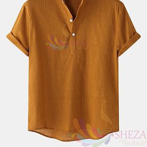 Men's Trendy Solid Shirt.
