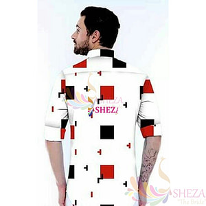 Men's Trendy Silk Blend Long Sleeve Shirt_3