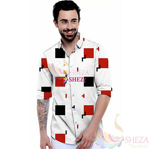Men's Trendy Silk Blend Long Sleeve Shirt_2