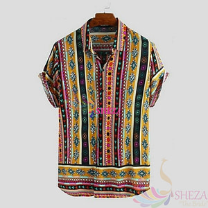 Men's Trendy Pattern Shirt